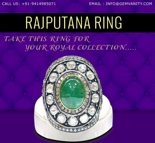 Rajputana Ring is perfect royal gift for all