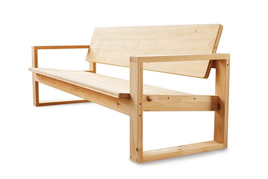 KM .15 / mabashira-sofa bench | 大工の手 | 【わざわ座】デザイン×ものづくりのプラットフォーム