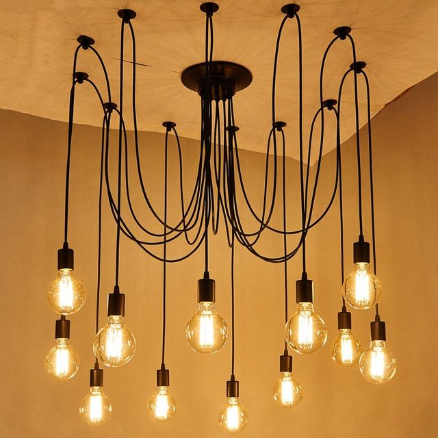 Diy Classic Style Spider Pendant Lamp Hanging Pendant Lights Lamps