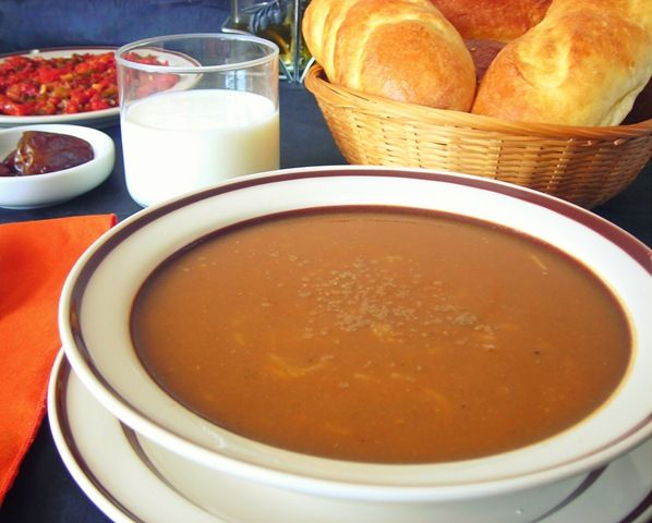 Harira Ramadan la soupe algerienne