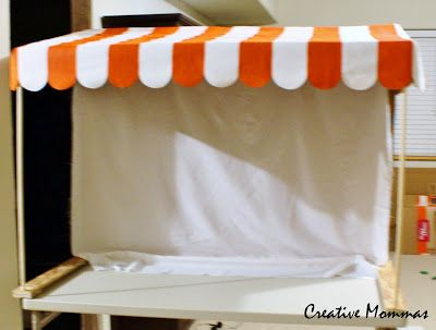 Creative Mommas: How to Make an Awning for a Party Dessert Table