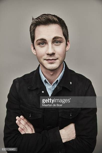Logan Lerman from the film 'Sidney Hall' poses for a portrait at the 2017 Sundance Film Festival Getty Images Portrait Studio presented by DIRECTV on...