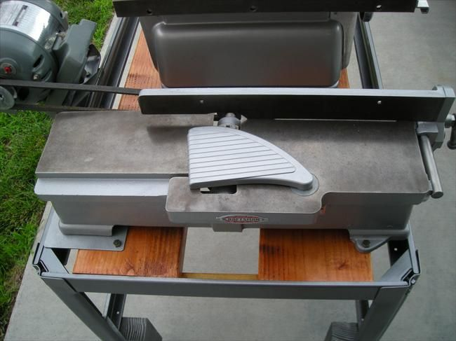 """Photo Index - Sears   Craftsman - Craftsman Table Saw, 8"""", 103.22161 mounted with Craftsman jointer 103.23340   VintageMachinery.org"""