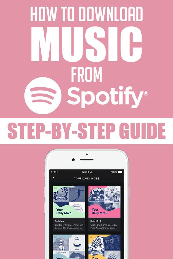 How To Download Music From Spotify (2020 Guide)   Spotify, Free music apps, Music  download