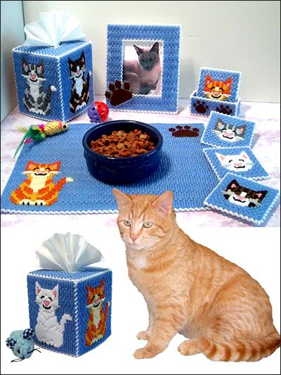 Plastic Canvas Cat Patterns Free