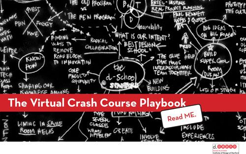 """Stanford d.school crash course -- full partner-work d.thinking cycle to redesign the """"gift-giving experience."""" Importantly, it includes a worksheet to guide process, playbook of d.thinking fundamentals, and super useful handbooks outlining tools for facilitating  understand / empathy / ideate stages."""