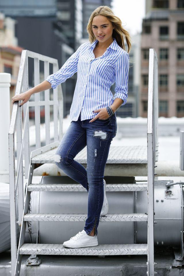 Ako vyzerať v džínsoch oveľa štíhlejšie? 4 finty vám vyčaria menší zadoček, krajšie nohy a ploché bruško   Casprezeny.sk