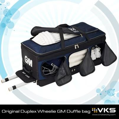 The all new Gunn and Moore cricket bags are now in stock. For those looking for the ultimate cricket bag we have the Original Duplex Wheelie and for the ultimate compact bag why not look at the GM Duffle.