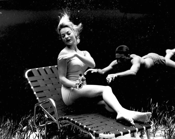 Pin-up Underwater Photoshoot in 1938 – Fubiz Media
