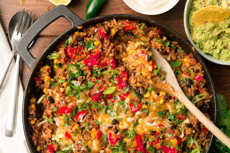 Culy Homemade: burritobowl in één grote pan, om te delen