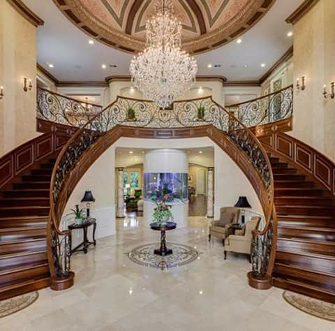 Pin By Homes Of The Rich On Grand Staircases