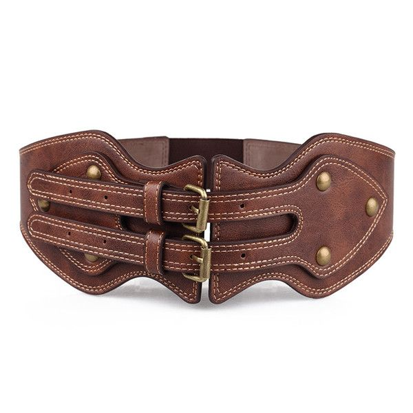 Womens Wide Western Luxury Belt - Women's Belts - amzn.to/2hOqA0h Women's Belts - amzn.to/2id8d5j Clothing, Shoes & Jewelry - Women - women's belts - http://amzn.to/2kwF6LI