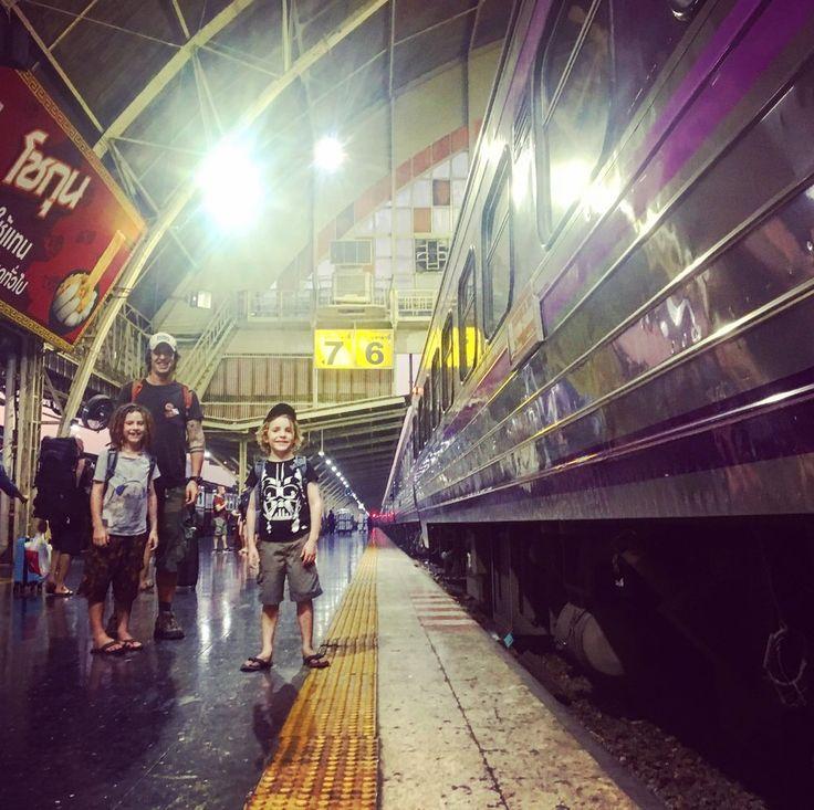 Kanchanaburi, Bangkok and Chiangmai, Thailand with kids. Railways, birthdays and jungle adventures.
