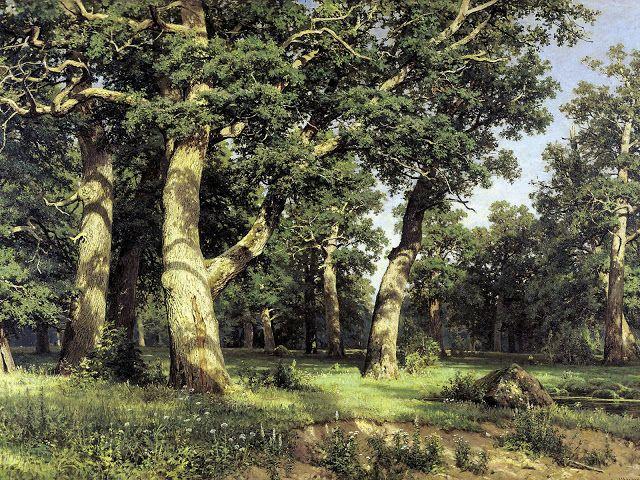 Aλσος με βελανιδιές.(1887)