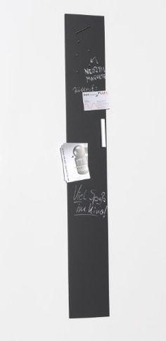 Magnet-Tafelboard, Pinnwand, Memoboard mit Tafelfolie, magnetisch, inkl. Tafelkreide und 12 Stift-Magneten
