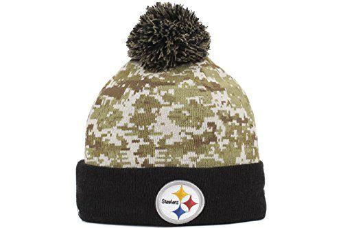 David Men's New Era NFL 2015 Pittsburgh Steelers Salute to Service Knit Hat Digi Camo Size One Size New Era http://smile.amazon.com/dp/B01019W728/ref=cm_sw_r_pi_dp_Fx7pwb1KPVWKB