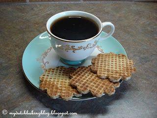My Dutch Baking Blog: Stroopwafels (Caramel Waffles)
