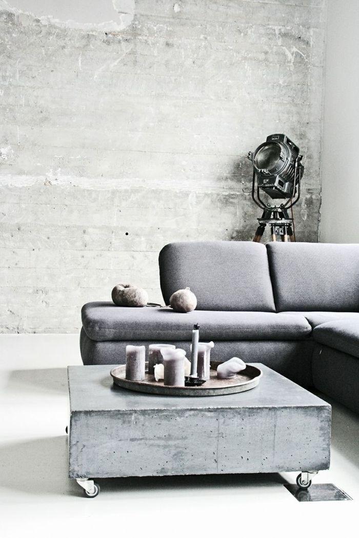 best 25 couchtisch grau ideas on pinterest wei e sofas. Black Bedroom Furniture Sets. Home Design Ideas
