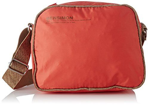 Bensimon femme Small Besace Sac bandouliere Orange (Corail)