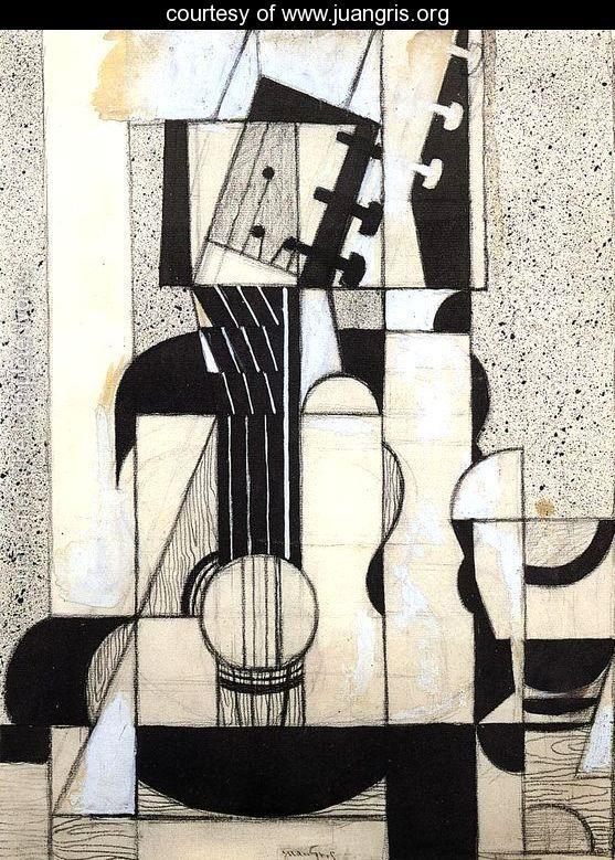 Juan Gris- still life with guitar