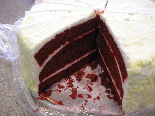 Best Cake EVER!  - Honey Baked Ham Store, Red Velvet