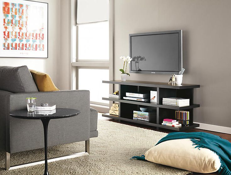 The Graham Media Console Table Is A Contemporary Perfect For Modern Living Room