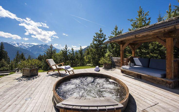 10 best jacuzzi images on pinterest ski chalet chalets and cottages