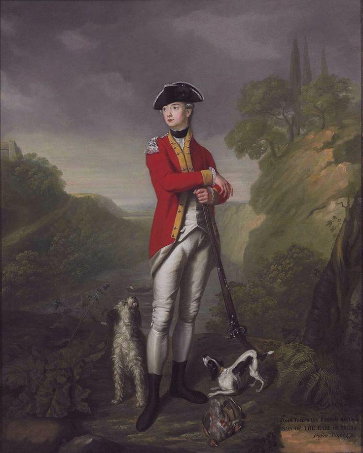 John Theophilus Rawdon-Hastings, Officer 15th Regiment of Foot. 1776