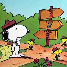 which way snoopy