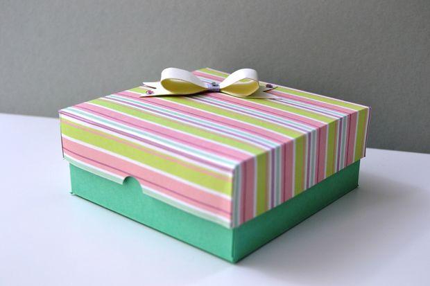 Crea il Tuo Giorno scatola di carta regalo di San Valentino