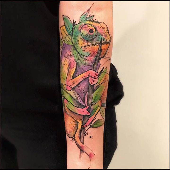 Chameleon Tattoo Designs Drawings: 1000+ Ideas About Chameleon Tattoo On Pinterest