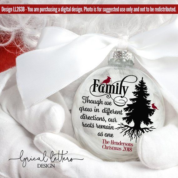 Christmas SVG Household Quote with Cardinal  LL263B – SVG DXF Fcm Ai Eps Png Jpg Digital file for Comme