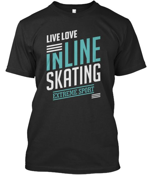 Inline Skating Extreme Sport T-shirt