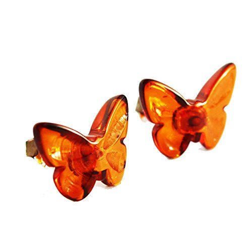 Baltic Honey Amber Butterfly Studs, + gorgeous gift box Amber Paradise http://www.amazon.co.uk/dp/B00OUGMZ5S/ref=cm_sw_r_pi_dp_i5D6wb00KZYVJ