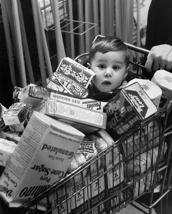 Trolley Boy Canvas Print / Canvas Art by Kurt Hutton | Pinterest | Photography, Photographers and Photos
