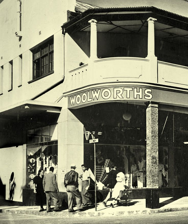 https://flic.kr/p/XmjyYJ | The first Woolworths,1931. | The first Woolworths in the country opened its doors in the old Royal Hotel building , Plein street, Cape Town in October,1931.