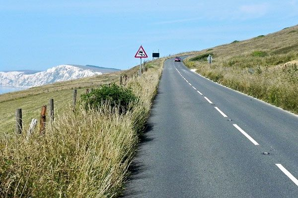 isle of wight - Military Road - wonderful coastal road with spectacular views!