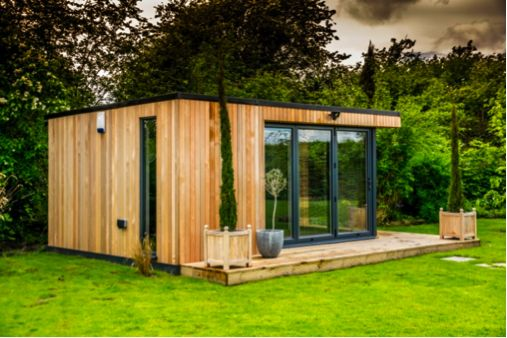Swift Elite Garden Room Studios tailor-made and built in Cheshire, UK