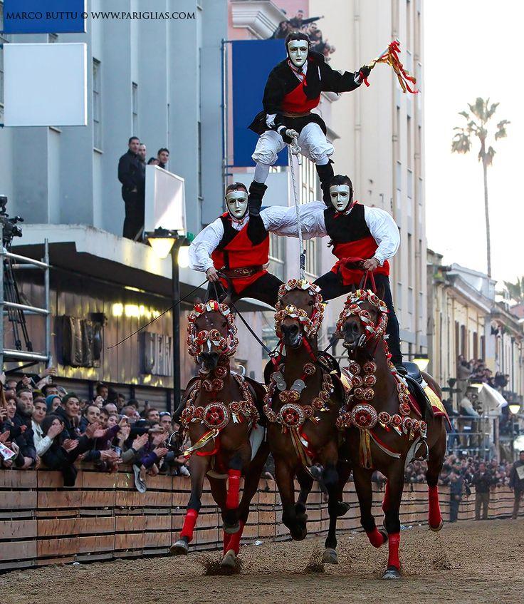 Carnival in Sardinia 2012