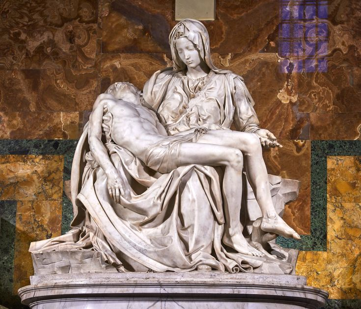 Where to find Michelangelo's works in Rome