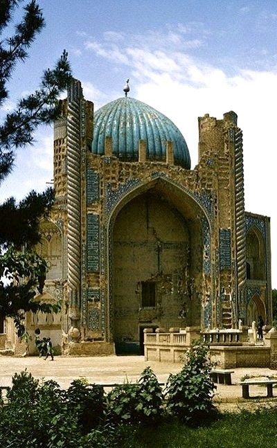 The Green Mosque (1400s), Balkh, Afghanistan