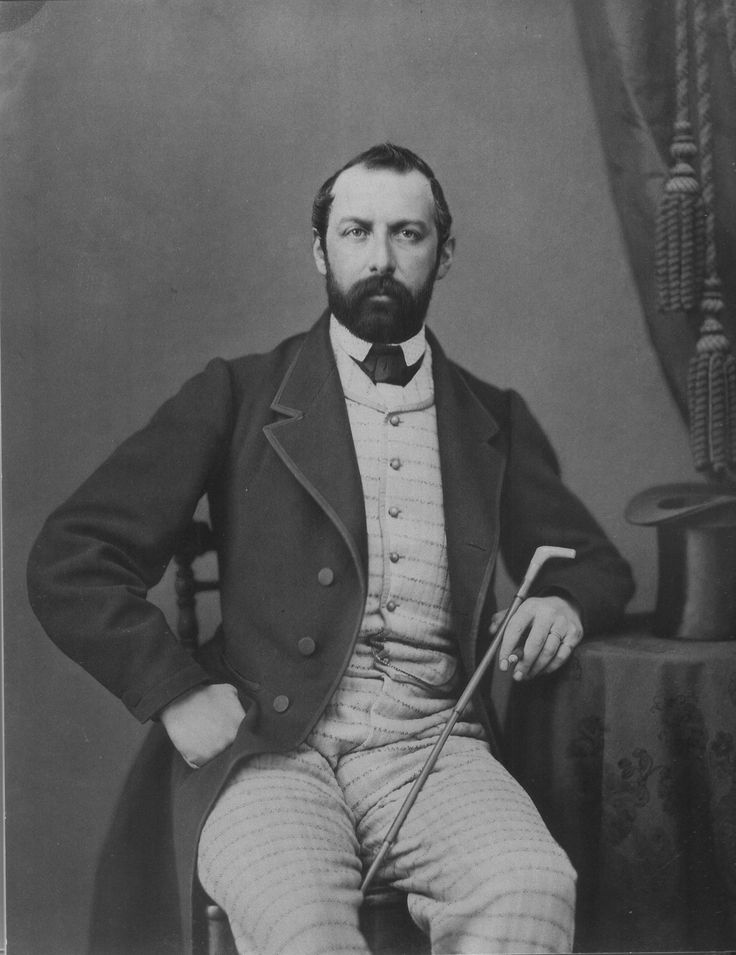 Karl XV 1865, fotograferad av Mathias Hansen
