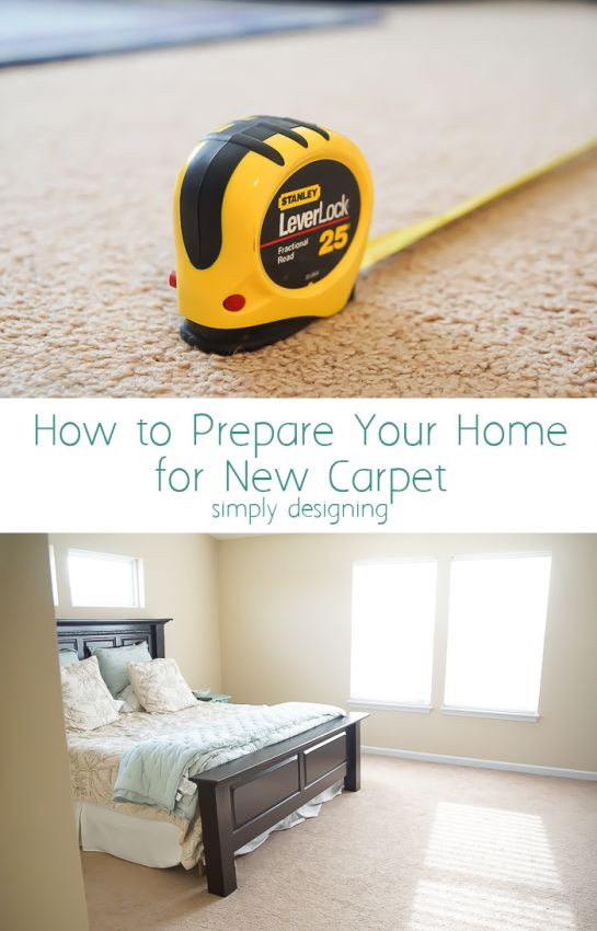 Thinking of getting new carpet at some point? You don't want to miss my tips for how to prepare your home for new carpet. #2 is so important!