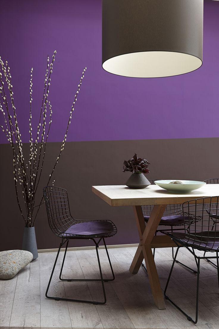 25 beste idee n over grijs interieur alleen op pinterest interieurontwerp keuken lounge - Lounge grijs en paars ...