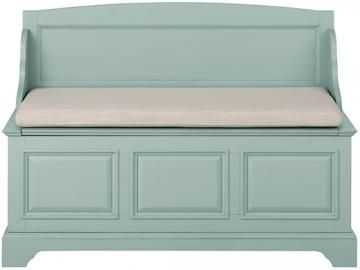 Sadie High-Back Storage Bench - Storage Bench - Storage Benches - Entryway Benches - Bench With Storage | HomeDecorators.com