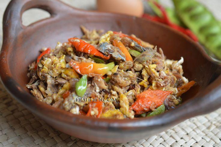 Resep Cake Pisang Diah Didi: Diah Didi's Kitchen: Orak Arik Peda & Pete