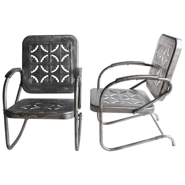 Best 25 Metal Garden Chairs Ideas On Pinterest Garden