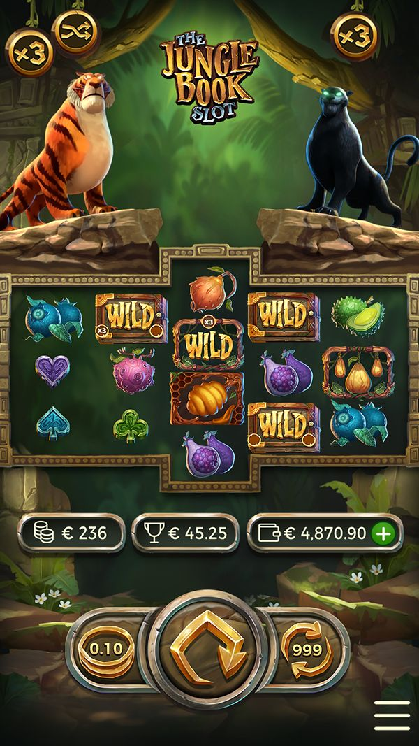 Pin by Alexandra kfylbnth on slots Jungle book, Slots