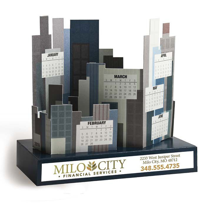 Build a City Calendar! #Bestof2015 Business Innovations - Promotional products Norcross