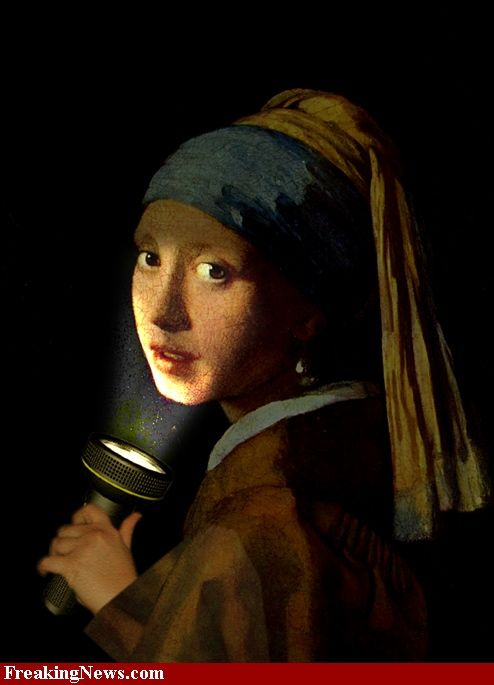 girl with a pearl earring setting And why is she wearing a pearl earring girl with a pearl earring tells the story of griet, a 16-year-old dutch girl who becomes a maid in in domestic settings.